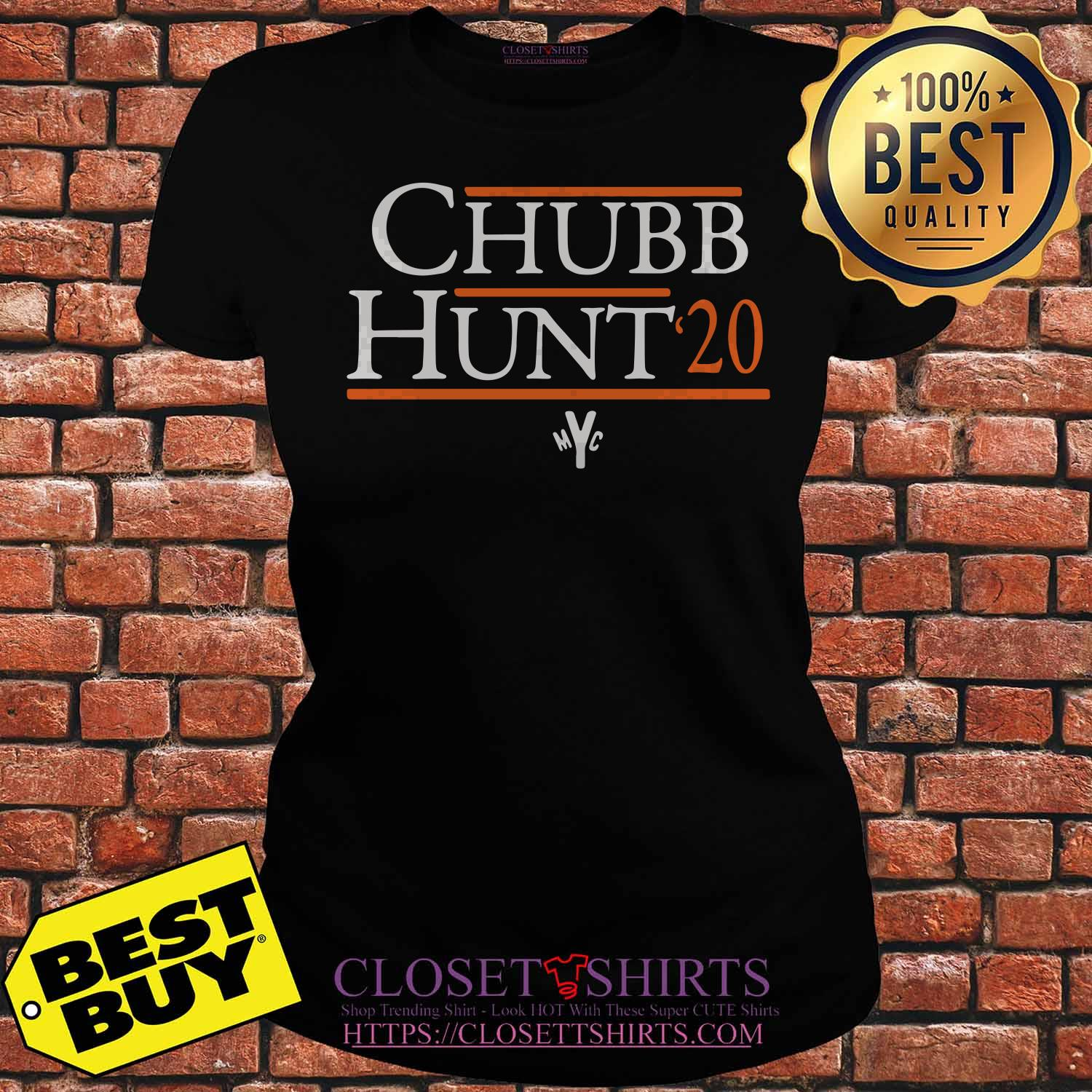 Cleveland Browns Nick Chubb Hunt 20 ladies tee