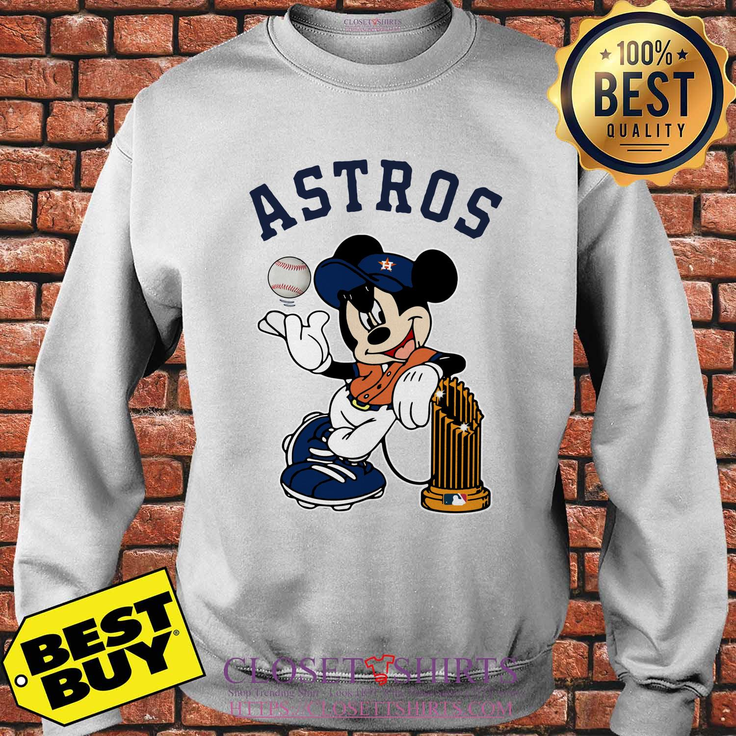 Houston Astros Mickey Mouse Disney Teams sweatshirt