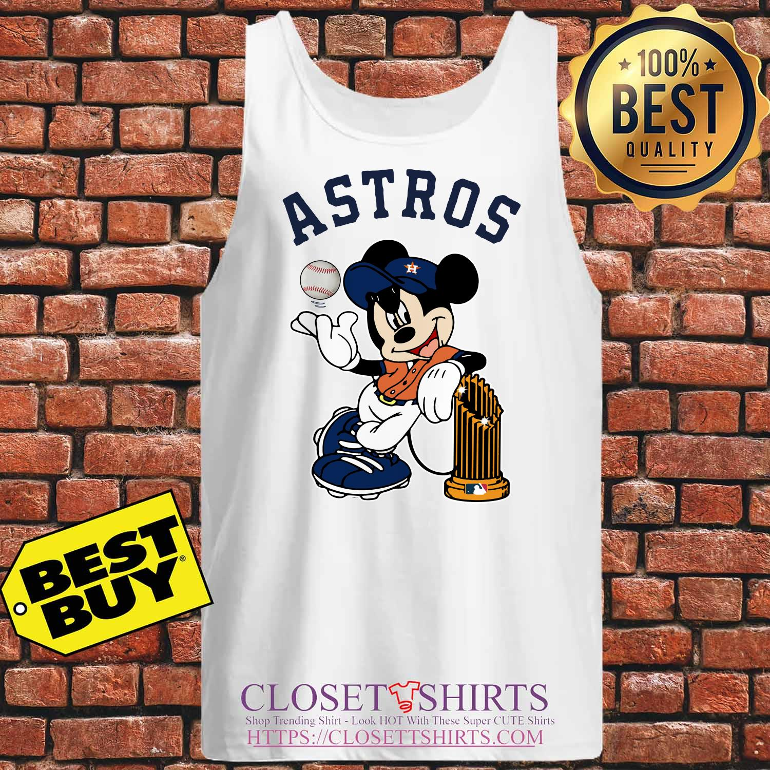 Houston Astros Mickey Mouse Disney Teams tank top