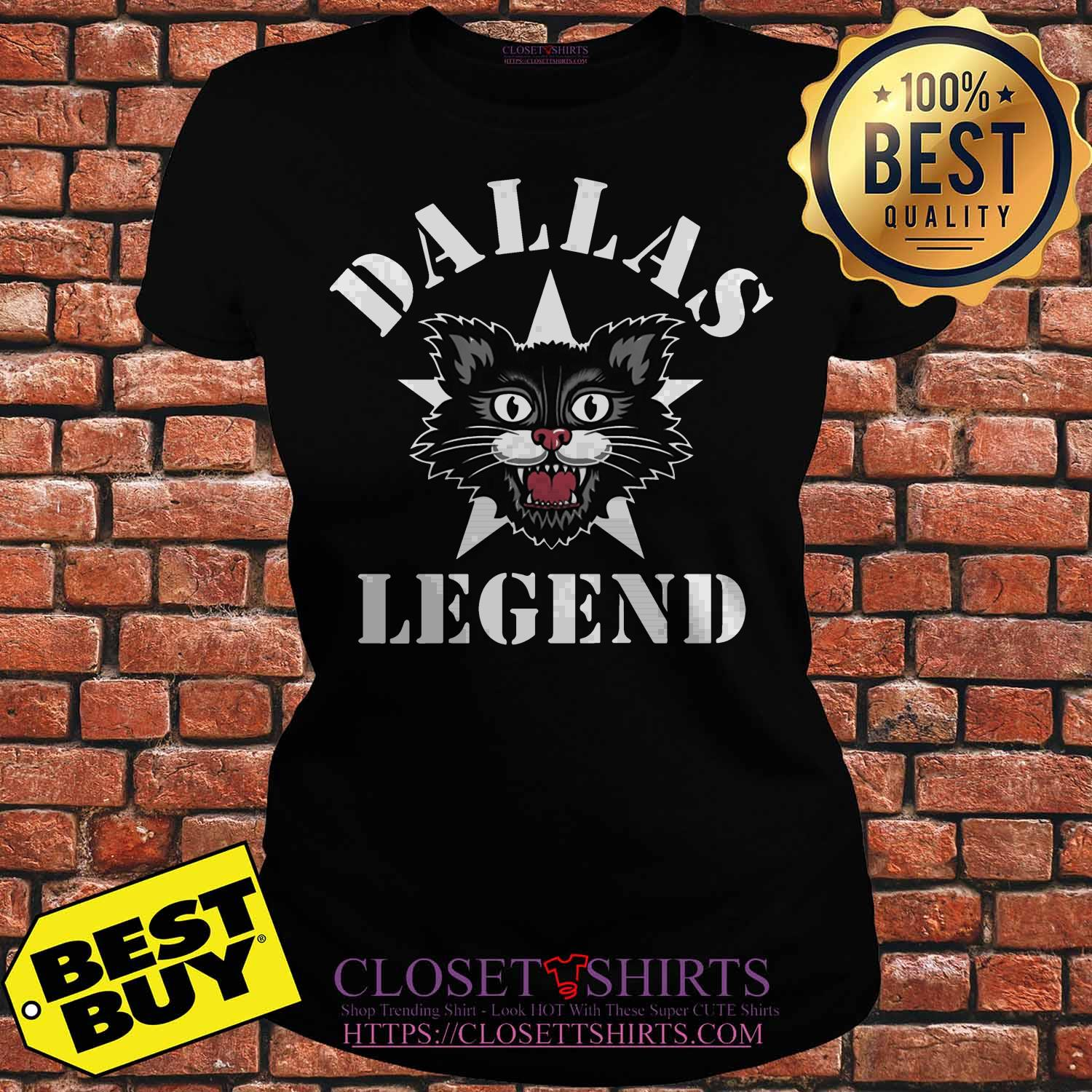 Official dallas Cat Legends ladies tee