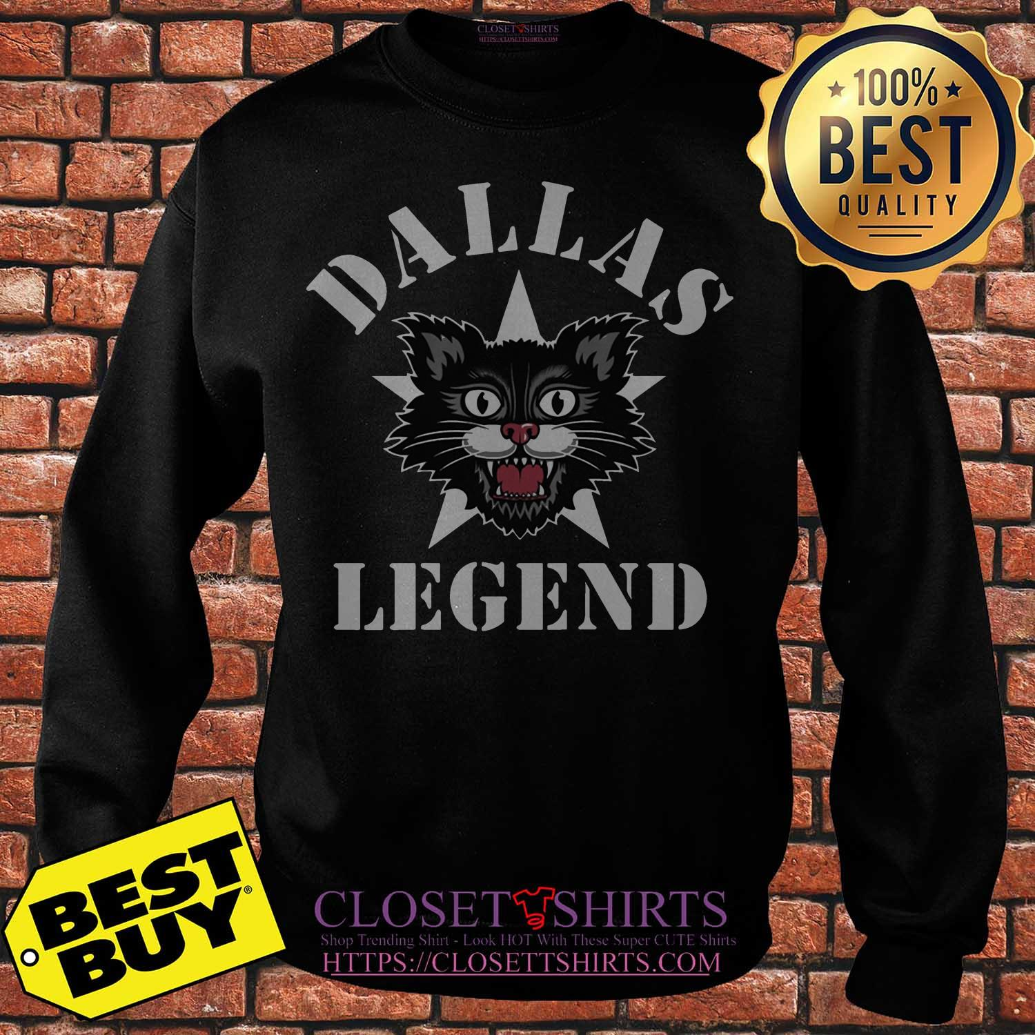 Official dallas Cat Legends sweatshirt