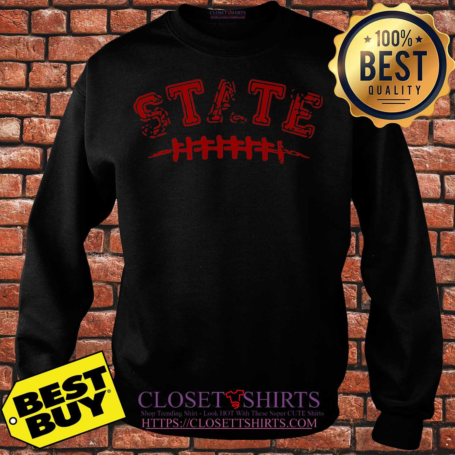 Official Nc State Wolfpack Football sweatshirt