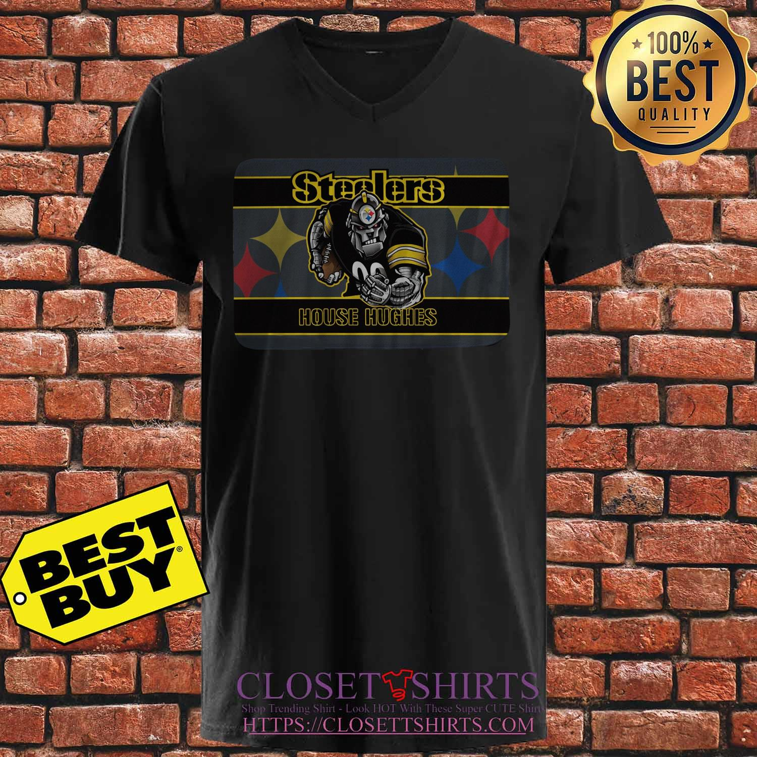 Pittsburgh Steelers House Hughes v neck