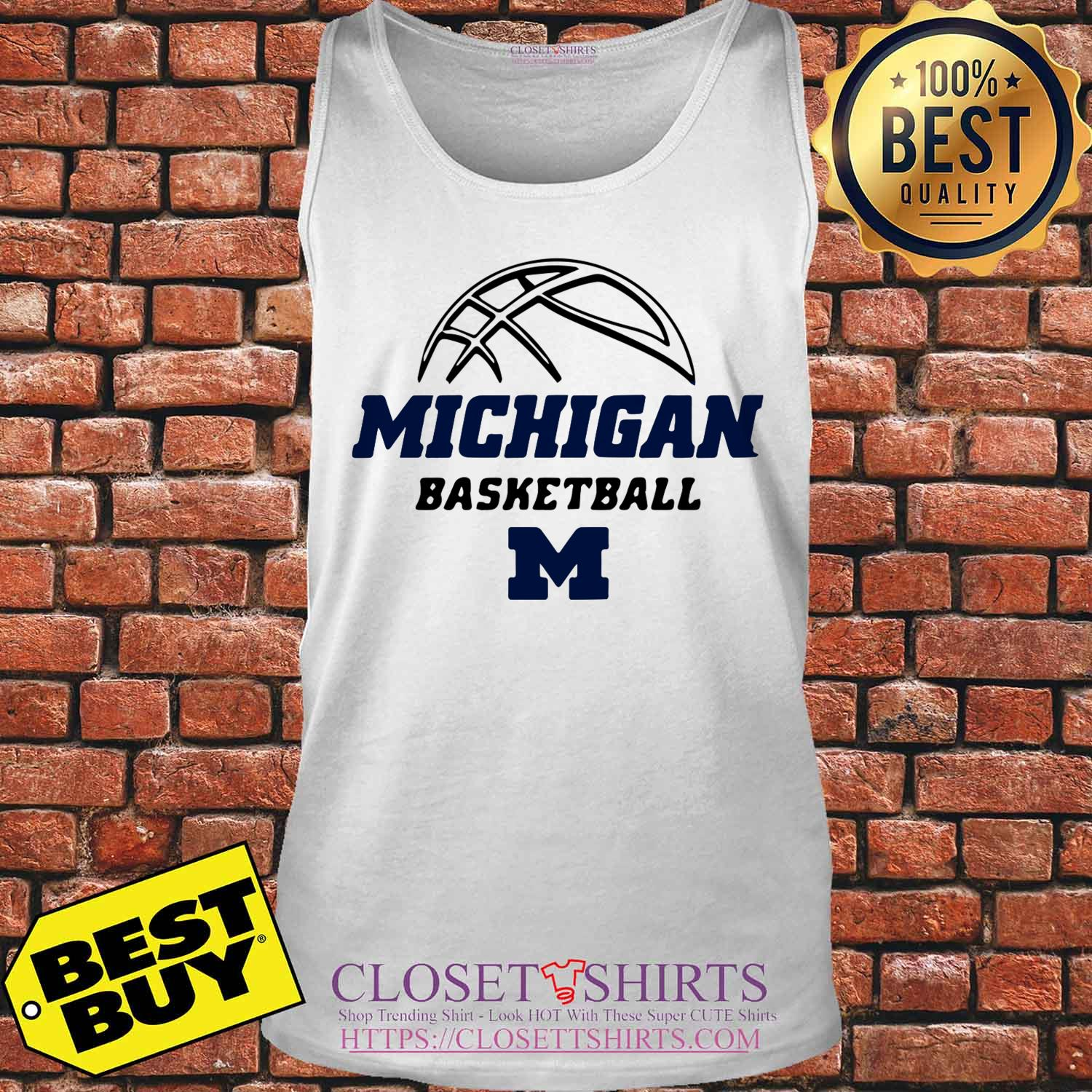 University Of Michigan Basketball 2019 2020 Schedule tank top