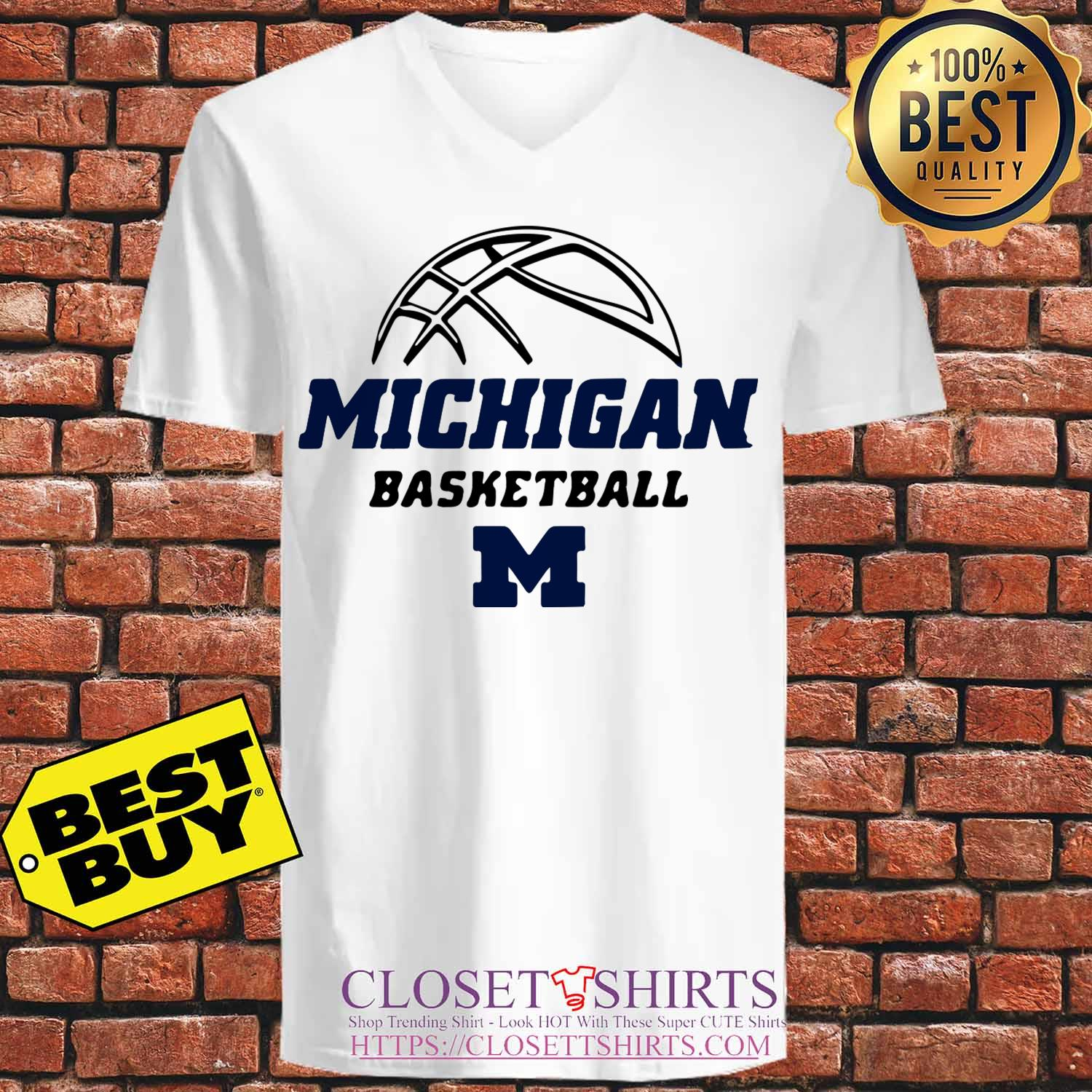 University Of Michigan Basketball 2019 2020 Schedule v neck