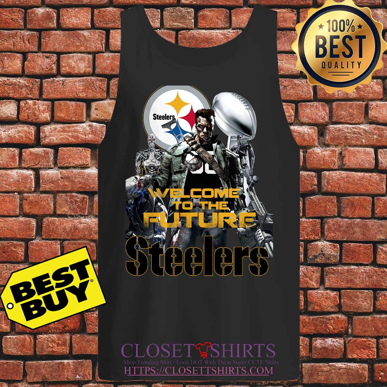 Welcome To The Future Pittsburgh Steelers tank top