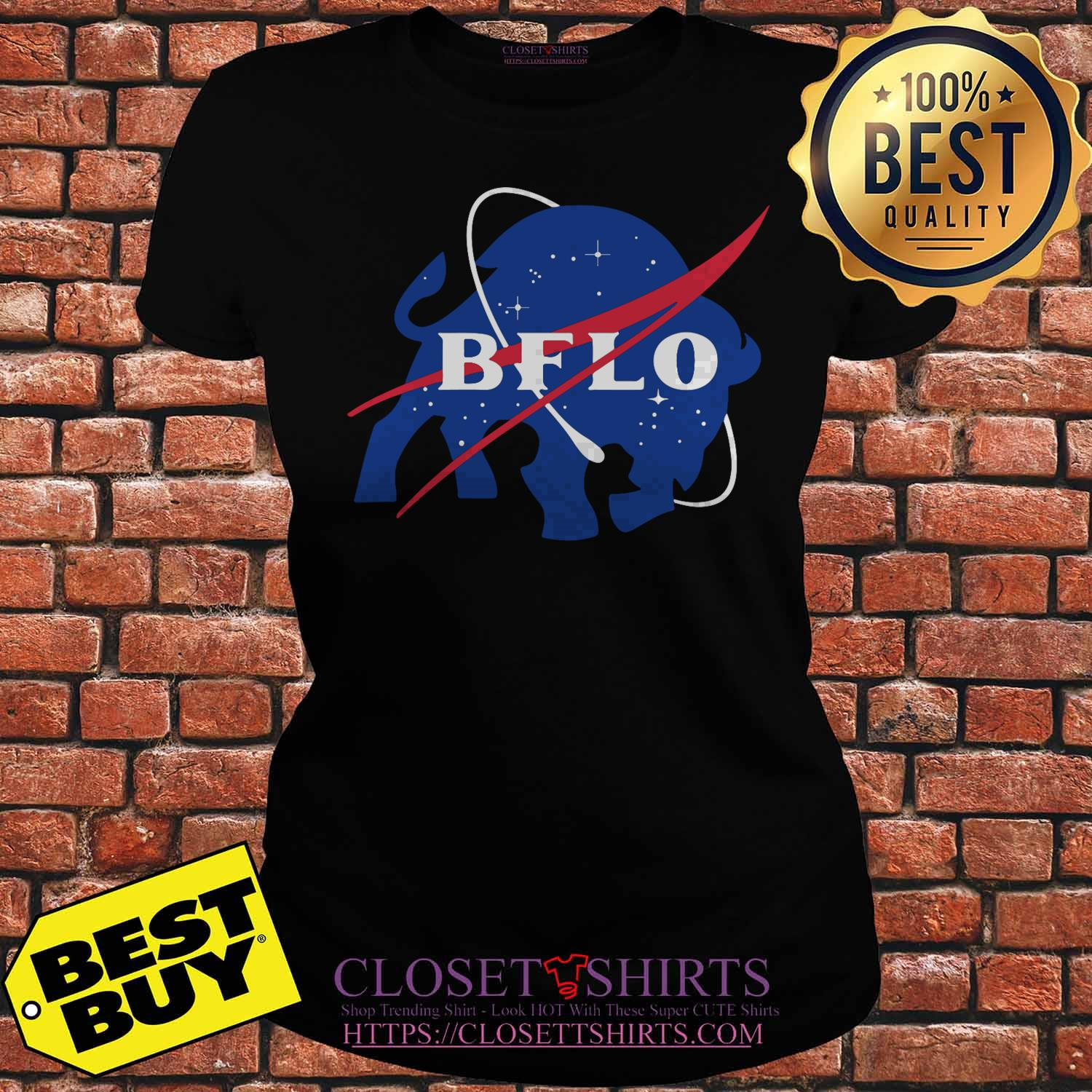 Bflo Buffalo Out Of This World ladies tee