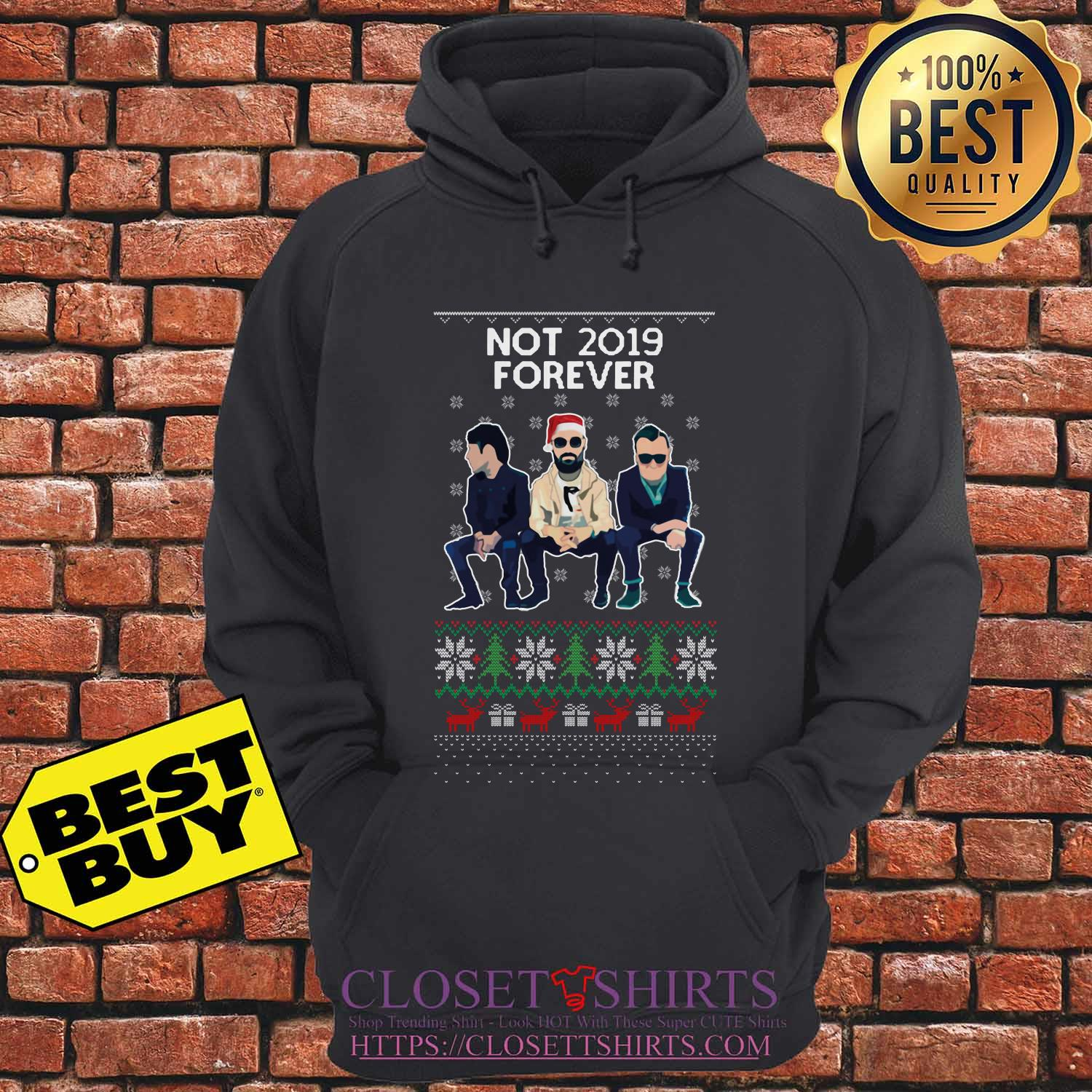 Courteeners Not 2019 Forever Christmas Hoodie