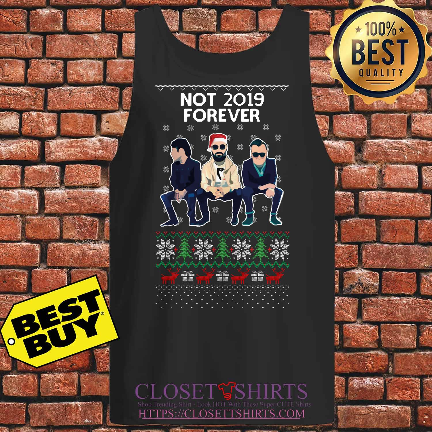 Courteeners Not 2019 Forever Christmas Tank Top