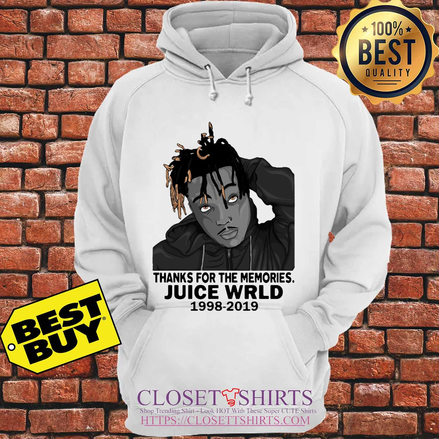 Rip Juice Wrld 1998 2019 Thanks For The Memories hoodie Sweater