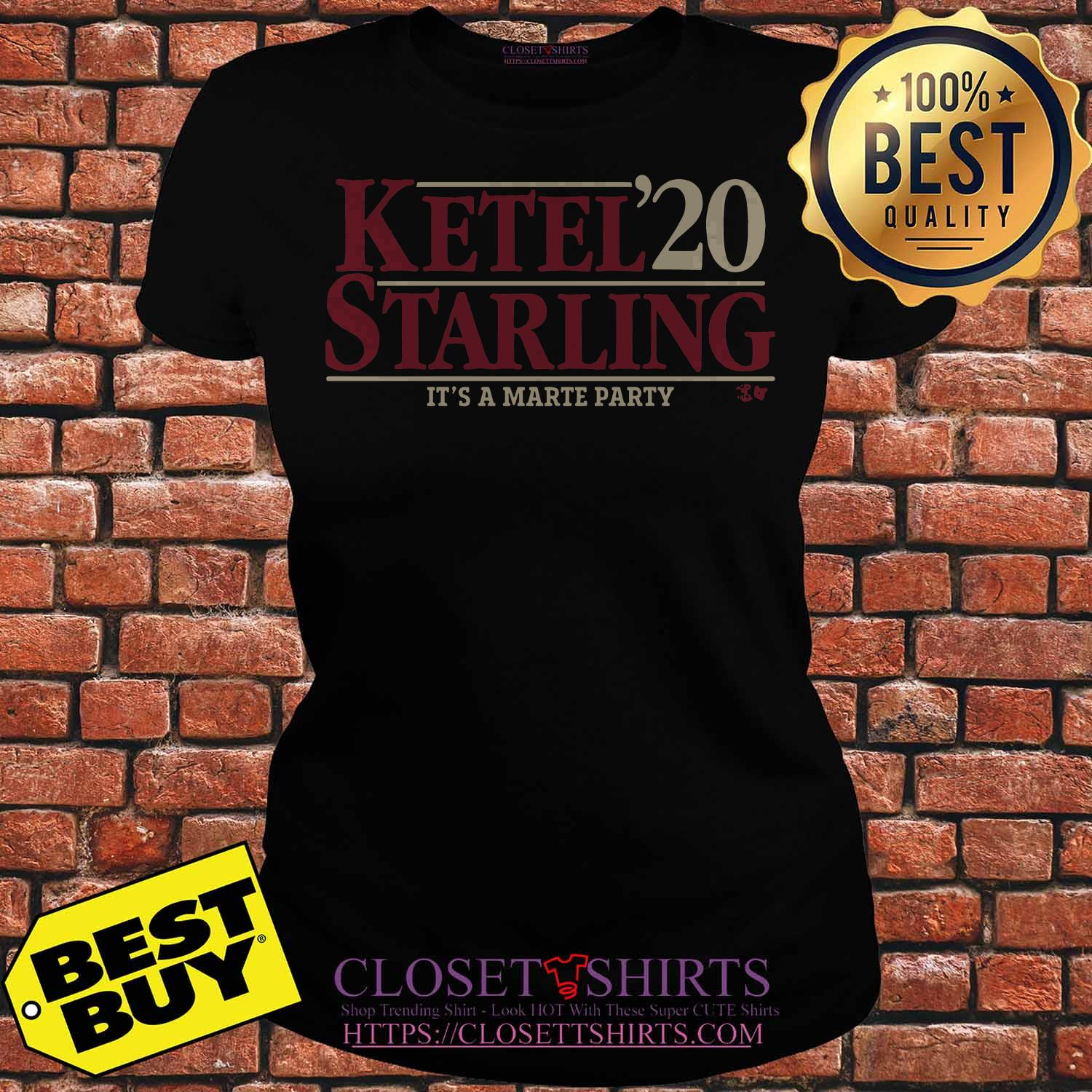 Ketel Starling Marte 2020 It's A Marte Party Shirt