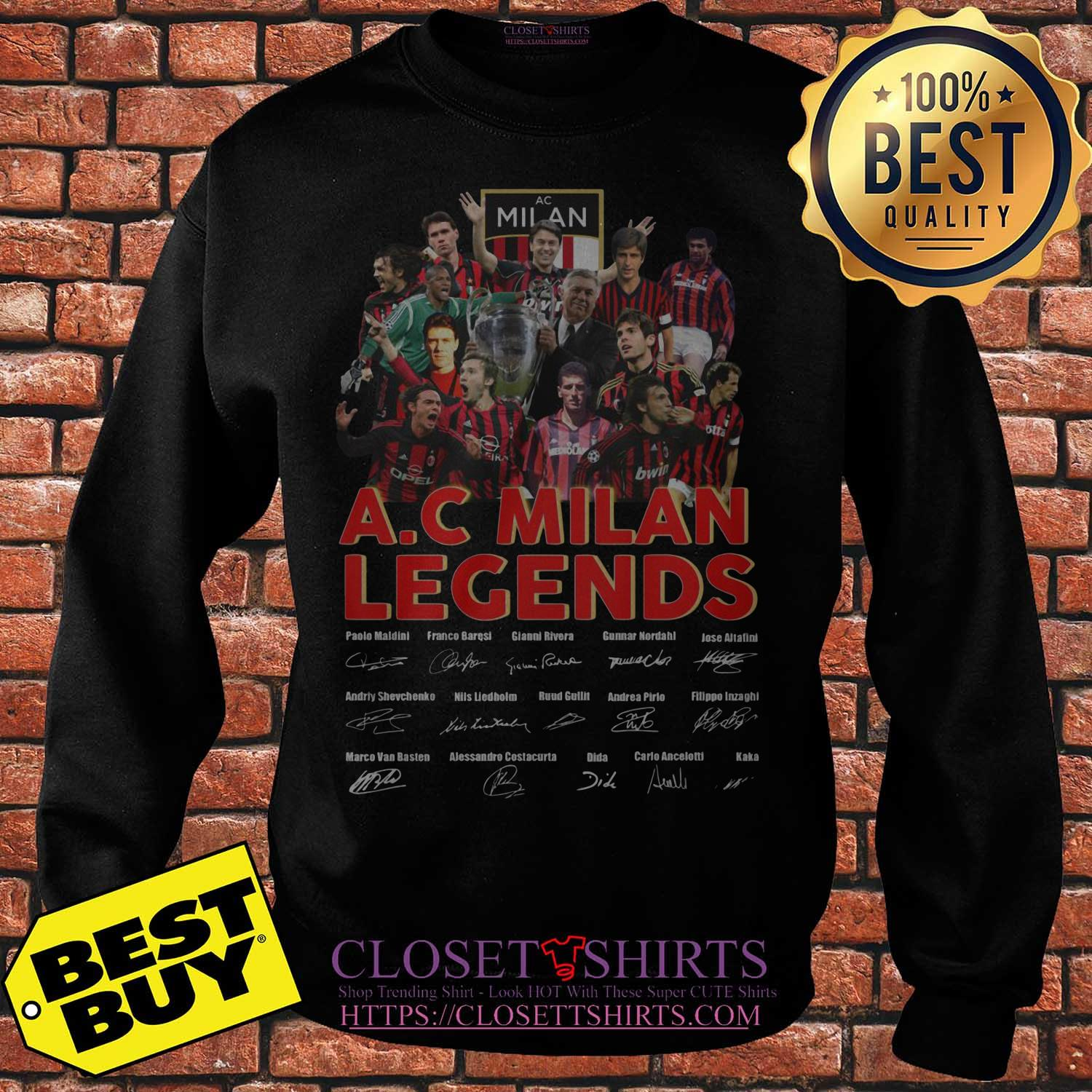 A C Milan Legends Signature Sweater