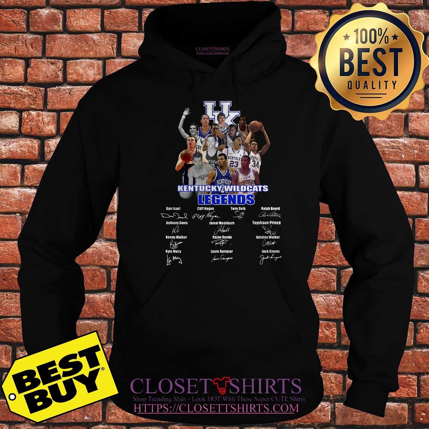 Kentucky Wildcats Legends Signature Hoodies