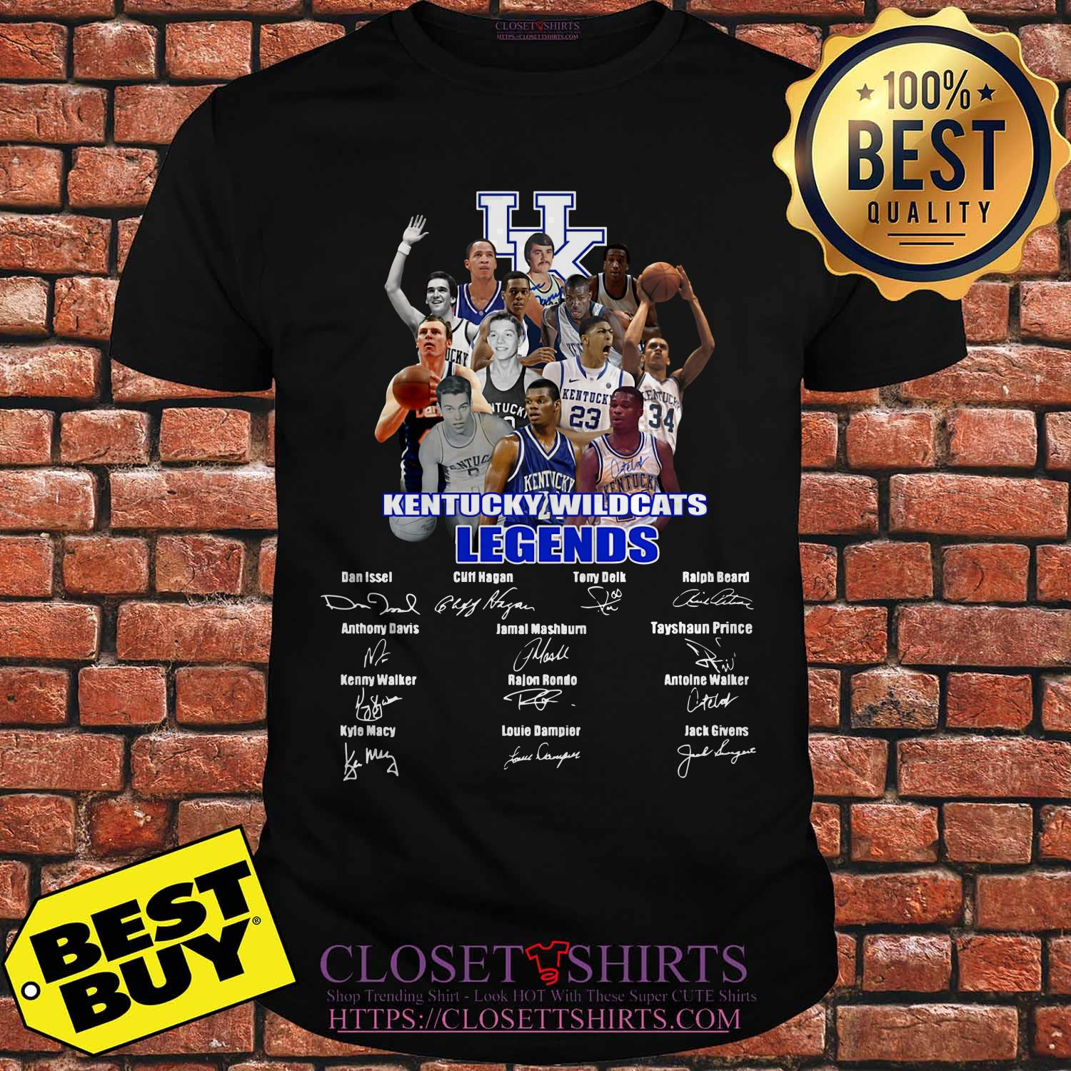 Kentucky Wildcats Legends Signature Shirt