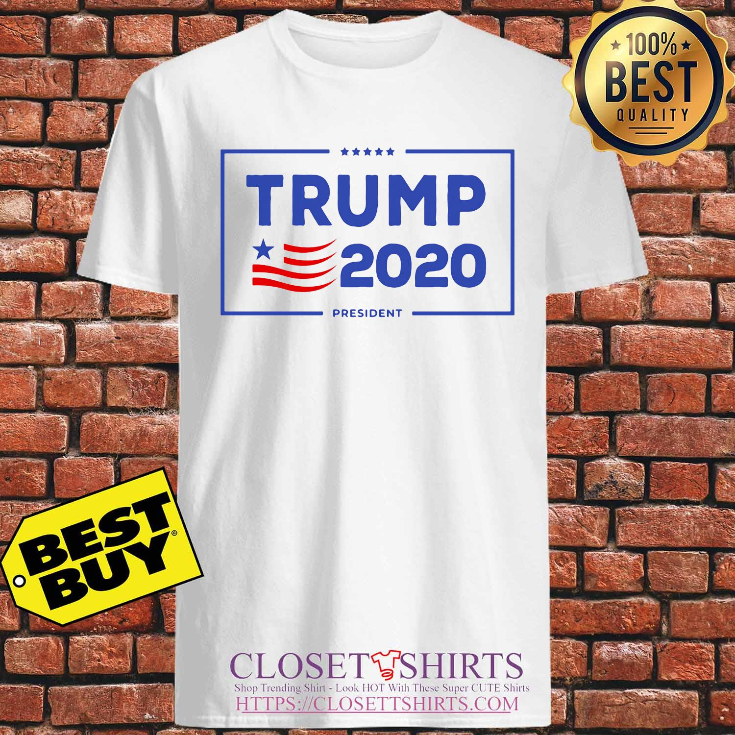 Official Trump 2020 president American s Unisex