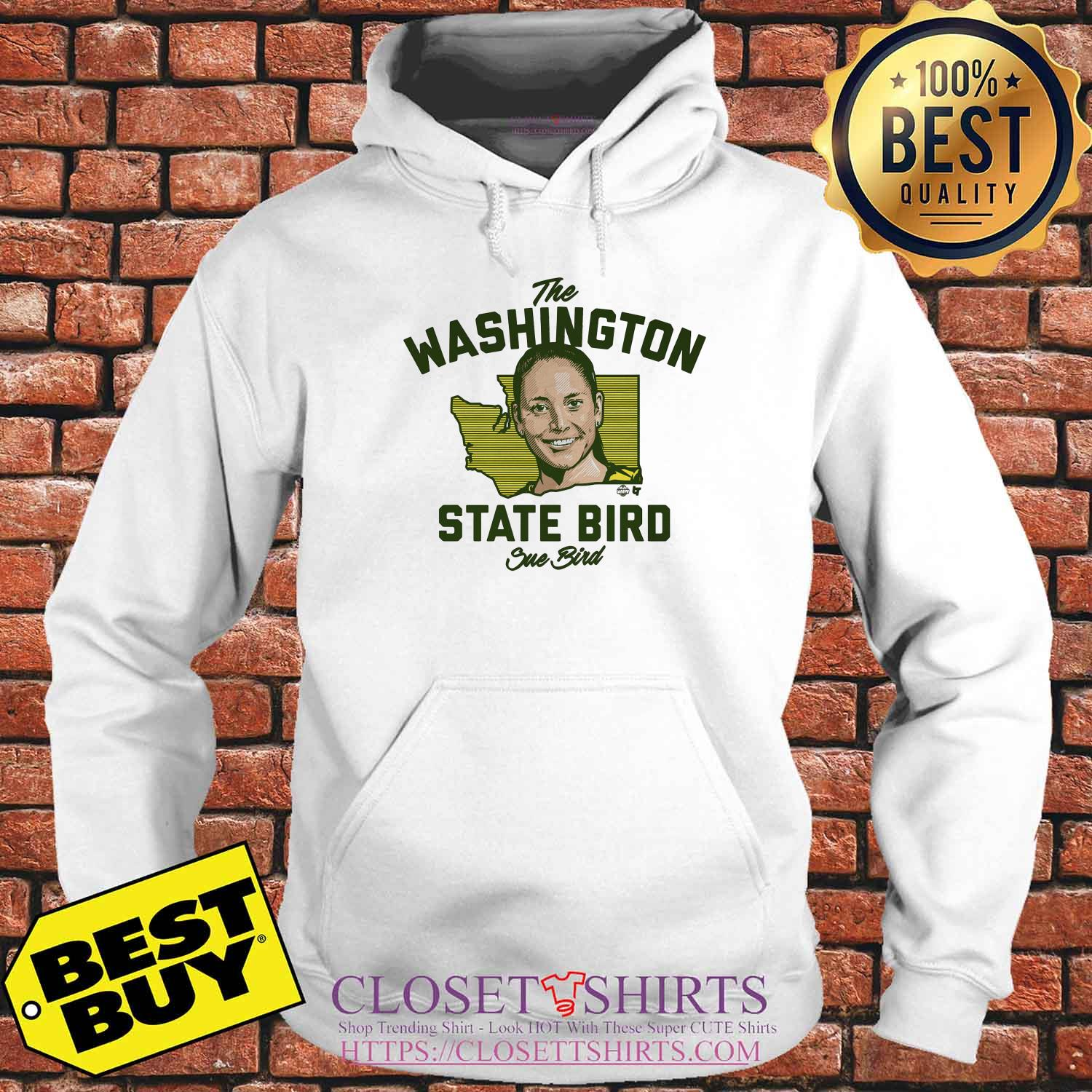 The Washington State Bird Sue Bird Hoodies