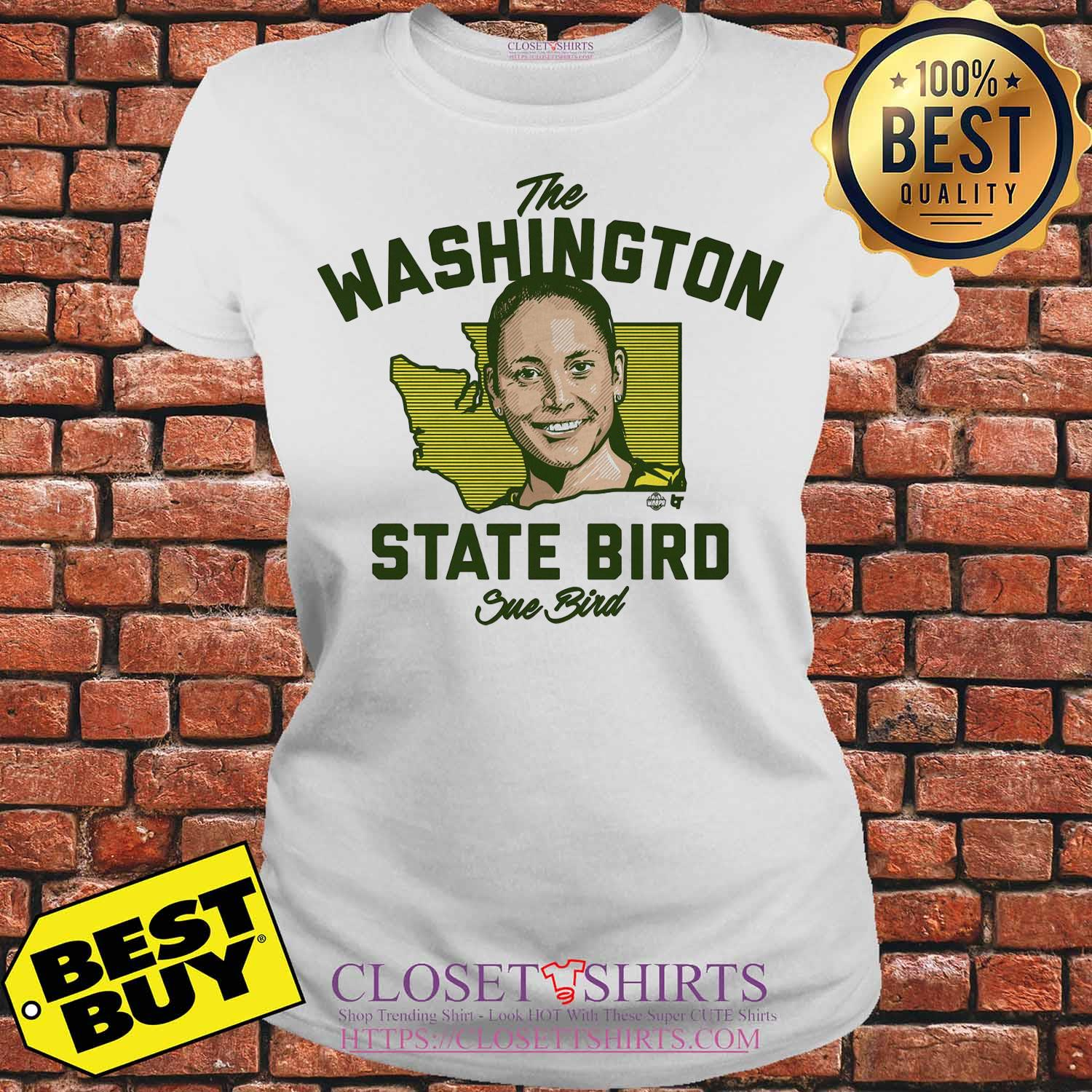 The Washington State Bird Sue Bird Ladies tee
