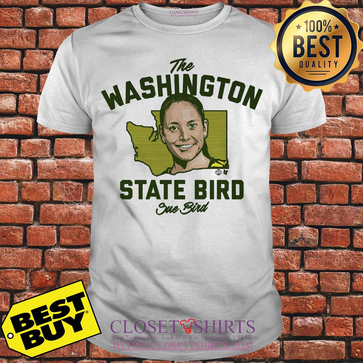 The Washington State Bird Sue Bird Shirt