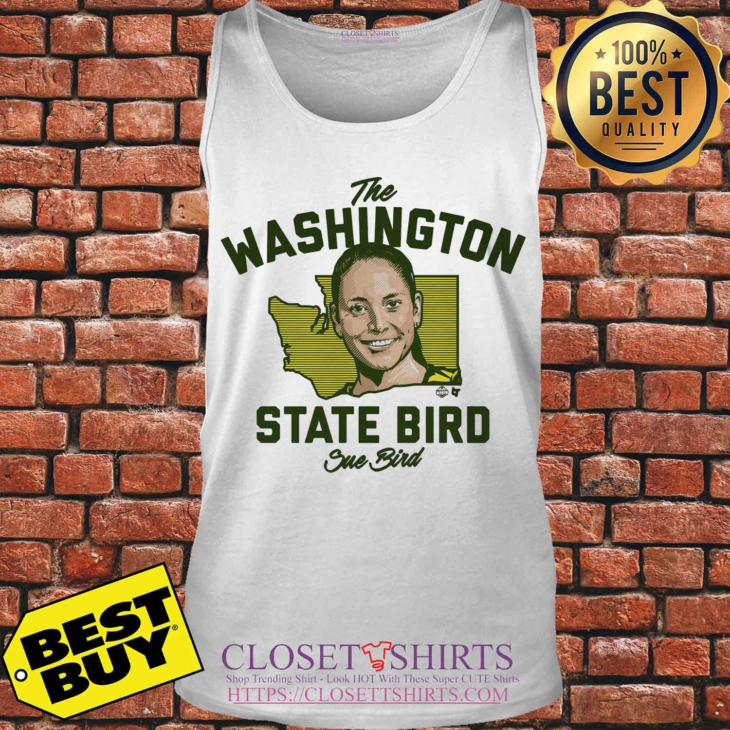 The Washington State Bird Sue Bird Tank top