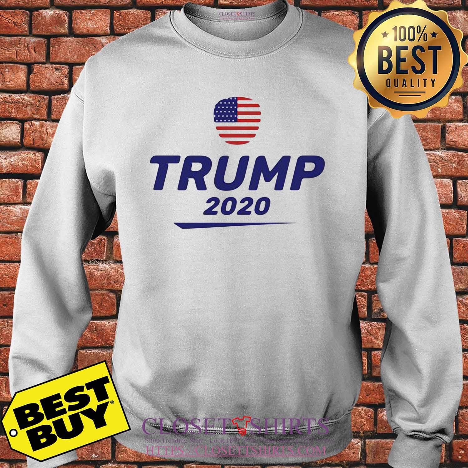 This unique Trump 2020 The us American flag shirt