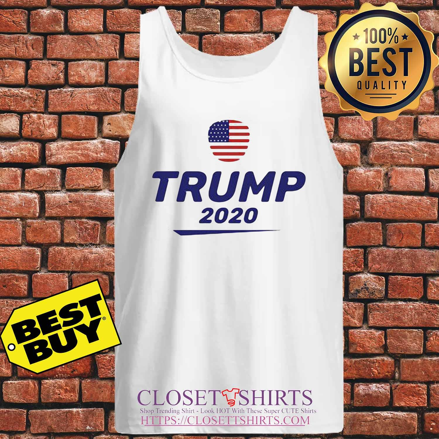 This unique Trump 2020 The us American flag s Tank-top