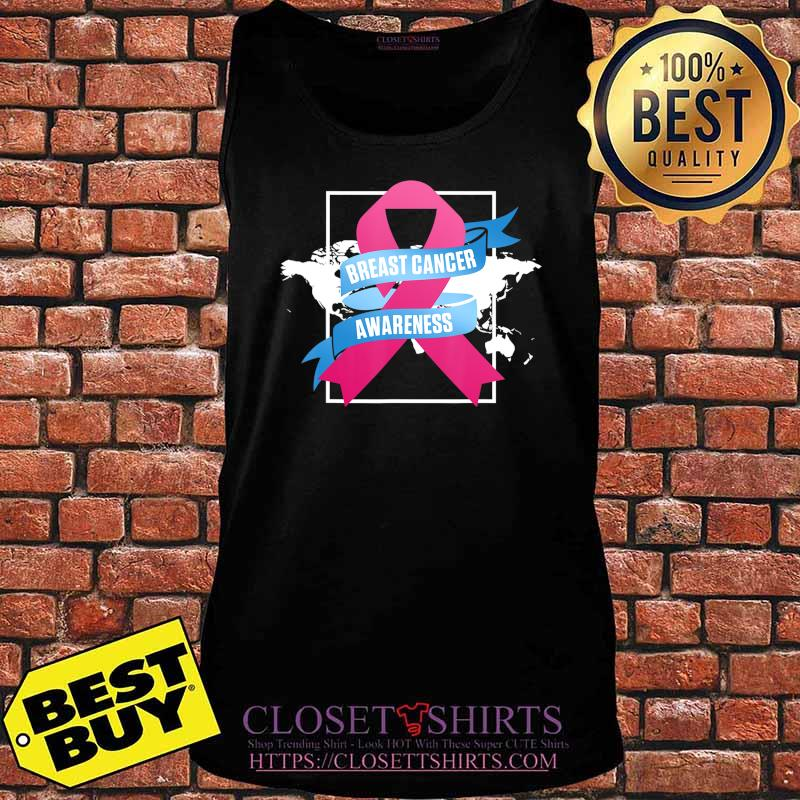 Breast Cancer Awareness Patient US Survivor Warrior T-Shirt Tank top