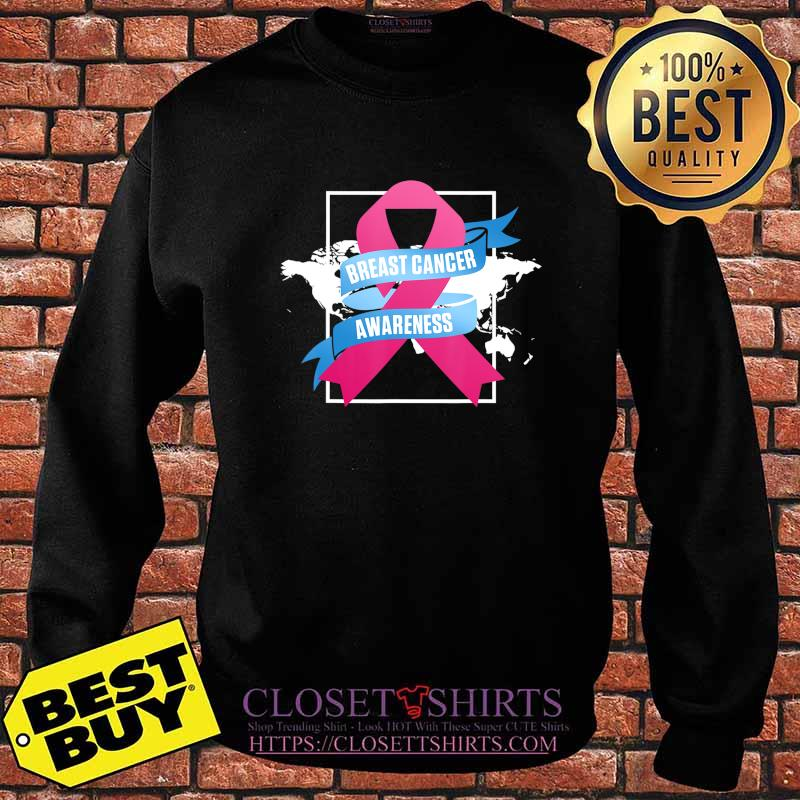 Breast Cancer Awareness Patient US Survivor Warrior T-Shirt Sweater