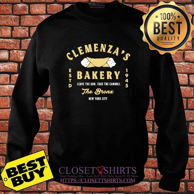 Clemenza Bakery Leave The Gun Take The Cannoli The Bronx New York City 1945 Shirt Sweater