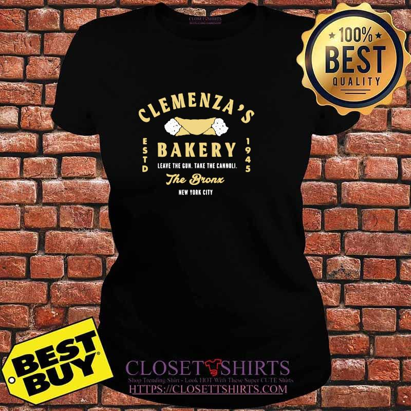 Clemenza Bakery Leave The Gun Take The Cannoli The Bronx New York City 1945 Shirt V-neck