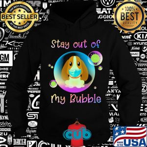 Basset hound stay out of my bubble coronavirus mask covid-19 s Hoodie