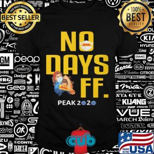 Dhl no days off peak 2020 coronavirus strong woman wear mask shirt