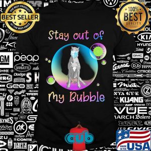 Great dane stay out of my bubble coronavirus mask covid-19 shirt
