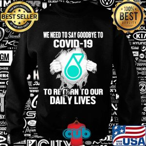 Petronas we need to say goodbye to covid-19 to return to our daily lives hands s Sweater