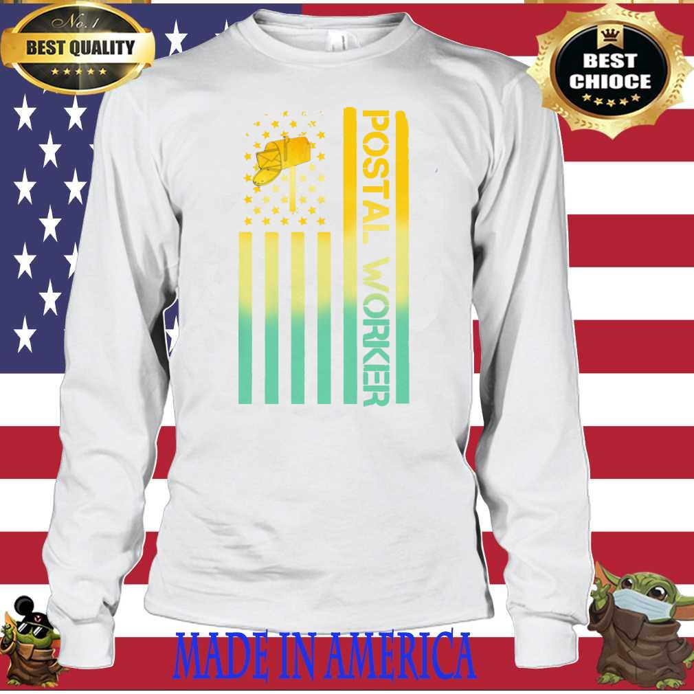 Official Postal Worker Shirt Hoodie Sweater Longsleeve T Shirt