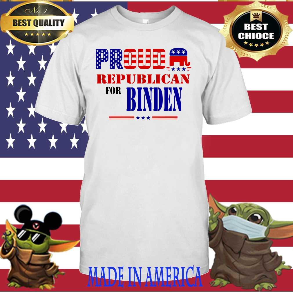 Best Proud Republican For Biden shirt