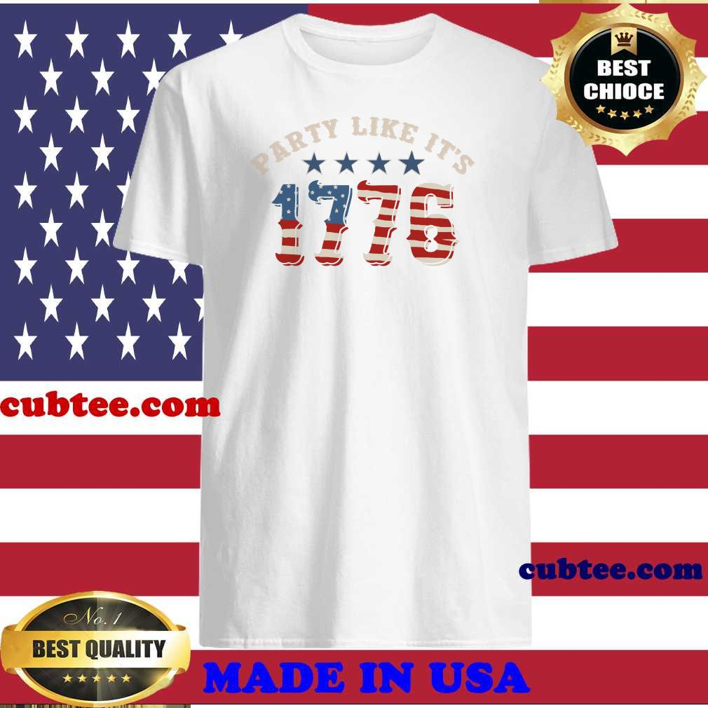 Party like its 1776 vintage shirt
