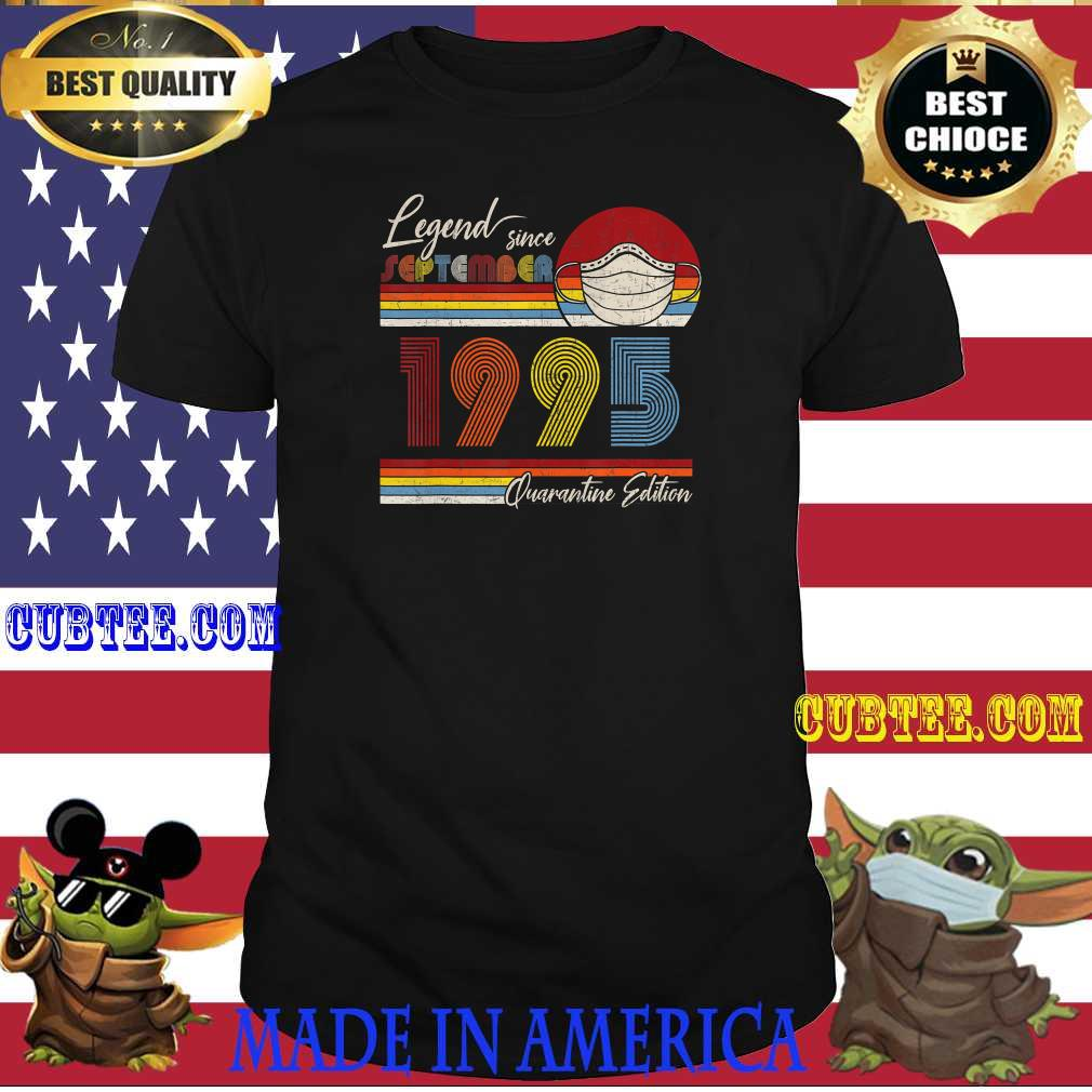 Legend Since September 1995 25th Birthday Party Costume T-Shirt
