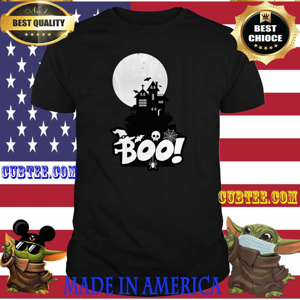 Boo Spooky Scary Halloween Night, Happy Halloween Costume T-Shirt