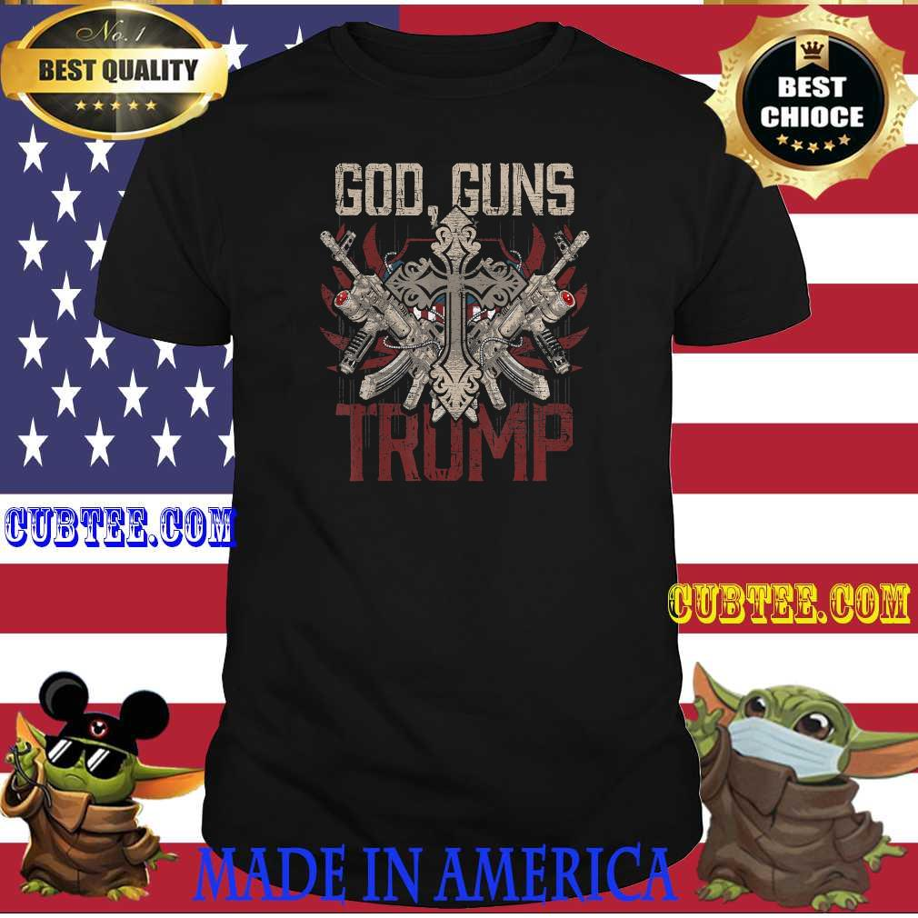 6a644648 us election gift patriot republican god guns trump shirt - Cubtee shop - Trending and funny Merchandise shop in the USA