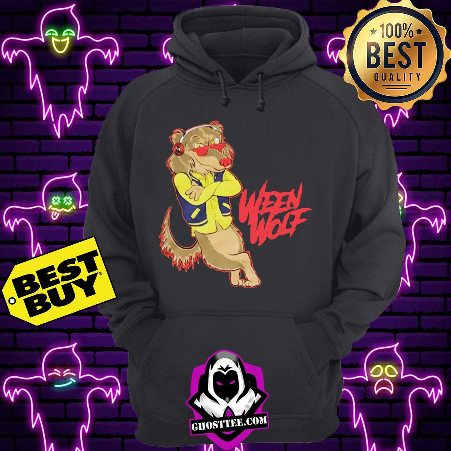 official 80s ween wolf hoodie - Official 80's Ween Wolf shirt