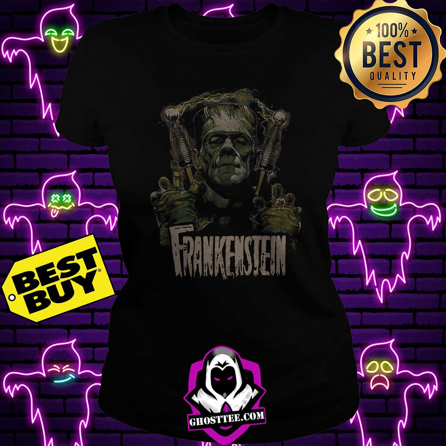official frankenstein halloween ladies tee - Official Frankenstein Halloween shirt