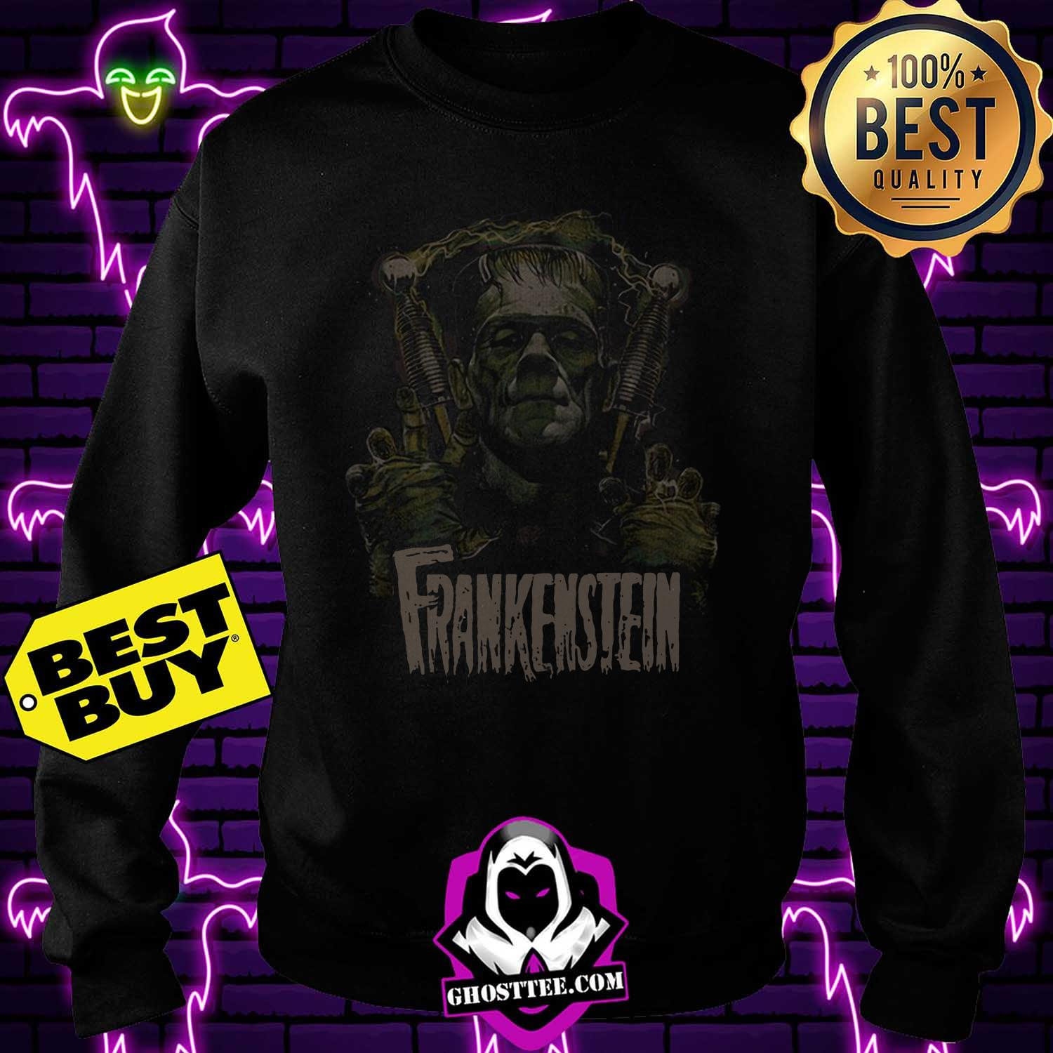 official frankenstein halloween sweatshirt - Official Frankenstein Halloween shirt