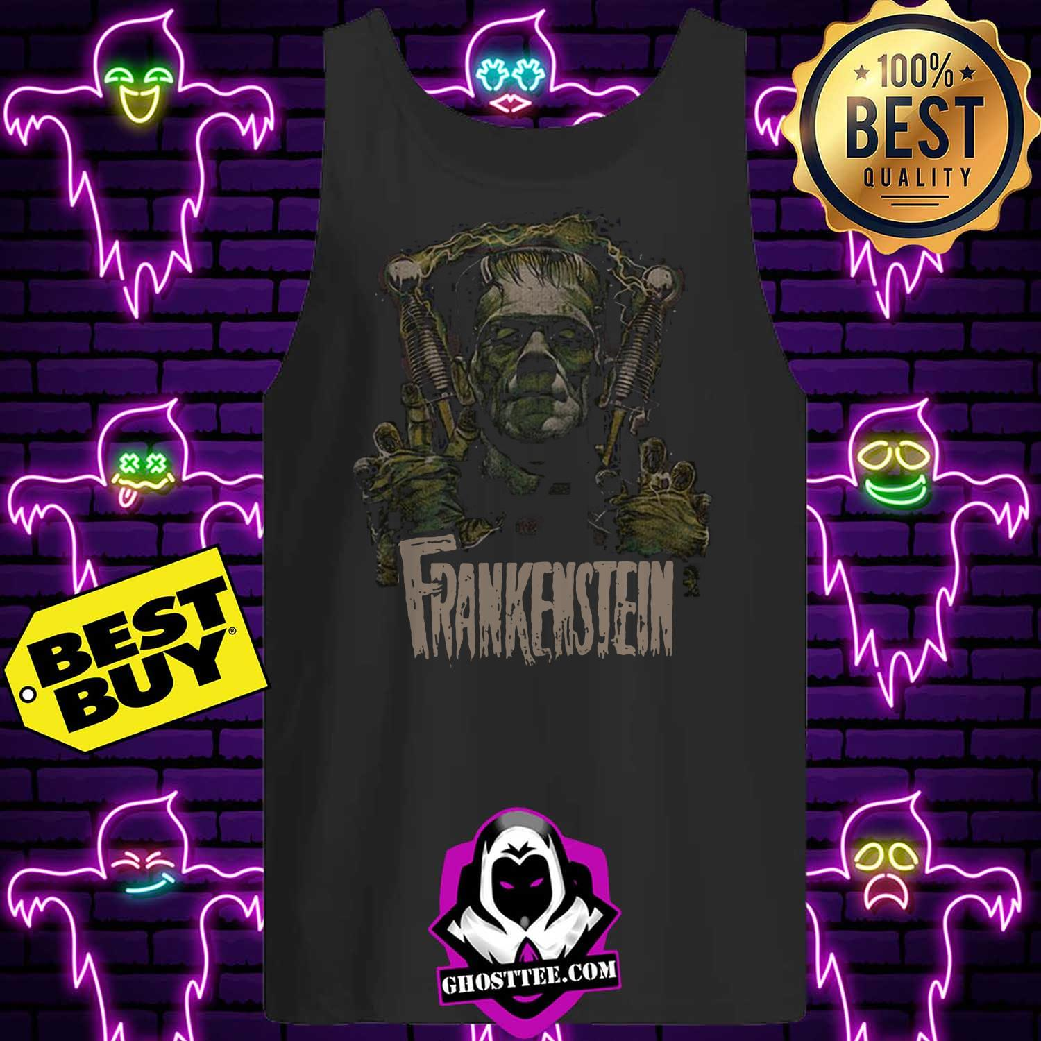 official frankenstein halloween tank top - Official Frankenstein Halloween shirt