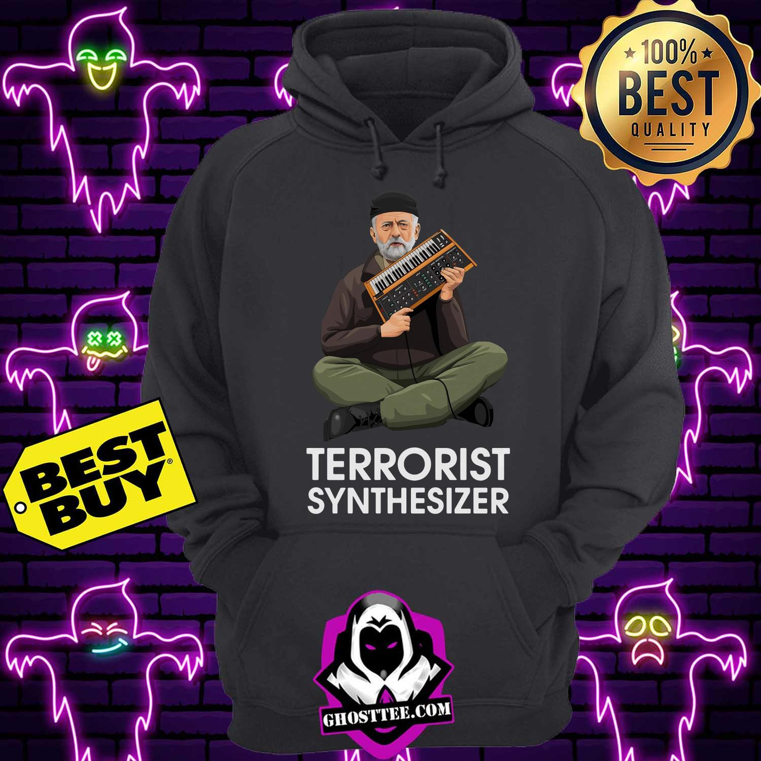 official terrorist synthesizer hoodie - Official Terrorist Synthesizer shirt