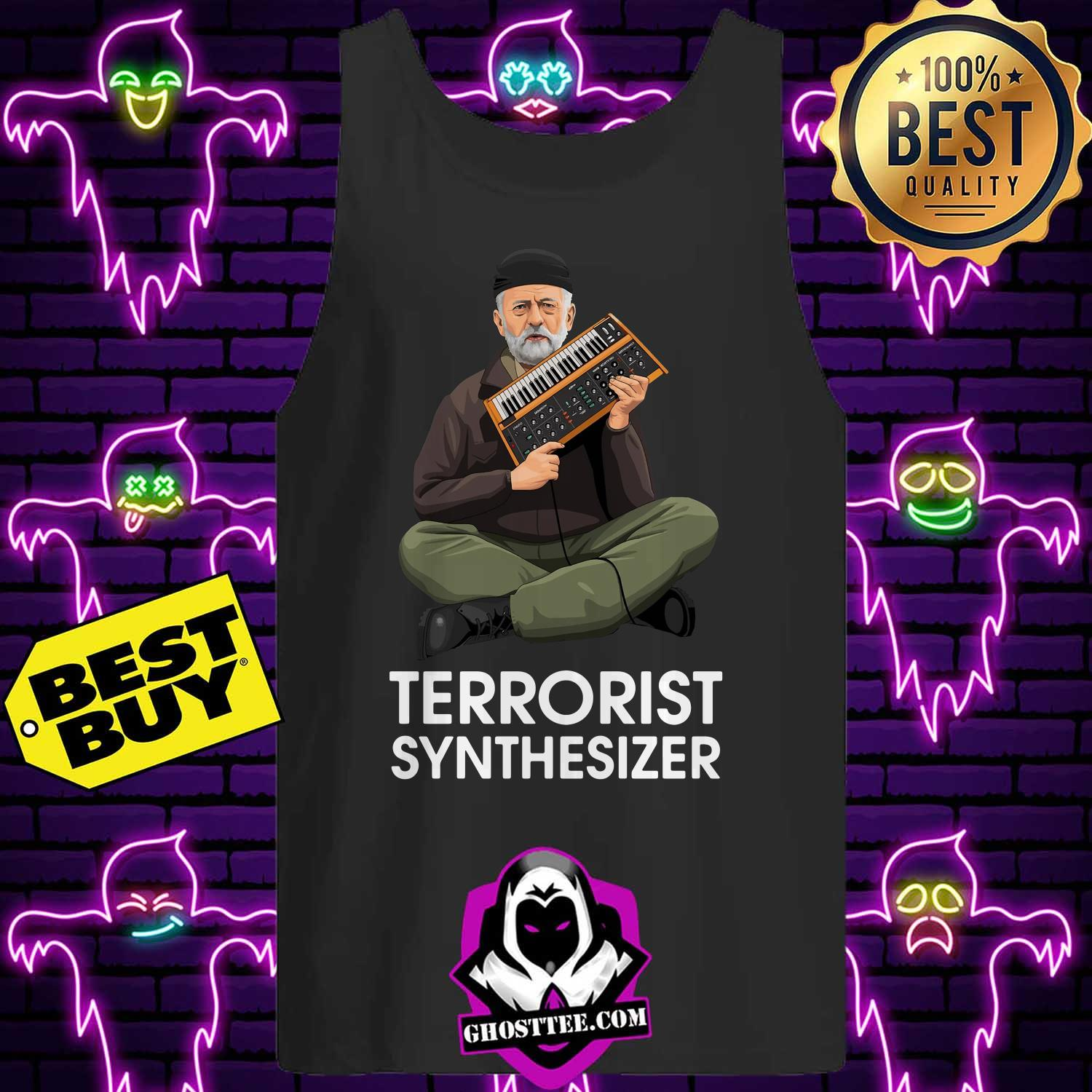 official terrorist synthesizer tank top - Official Terrorist Synthesizer shirt