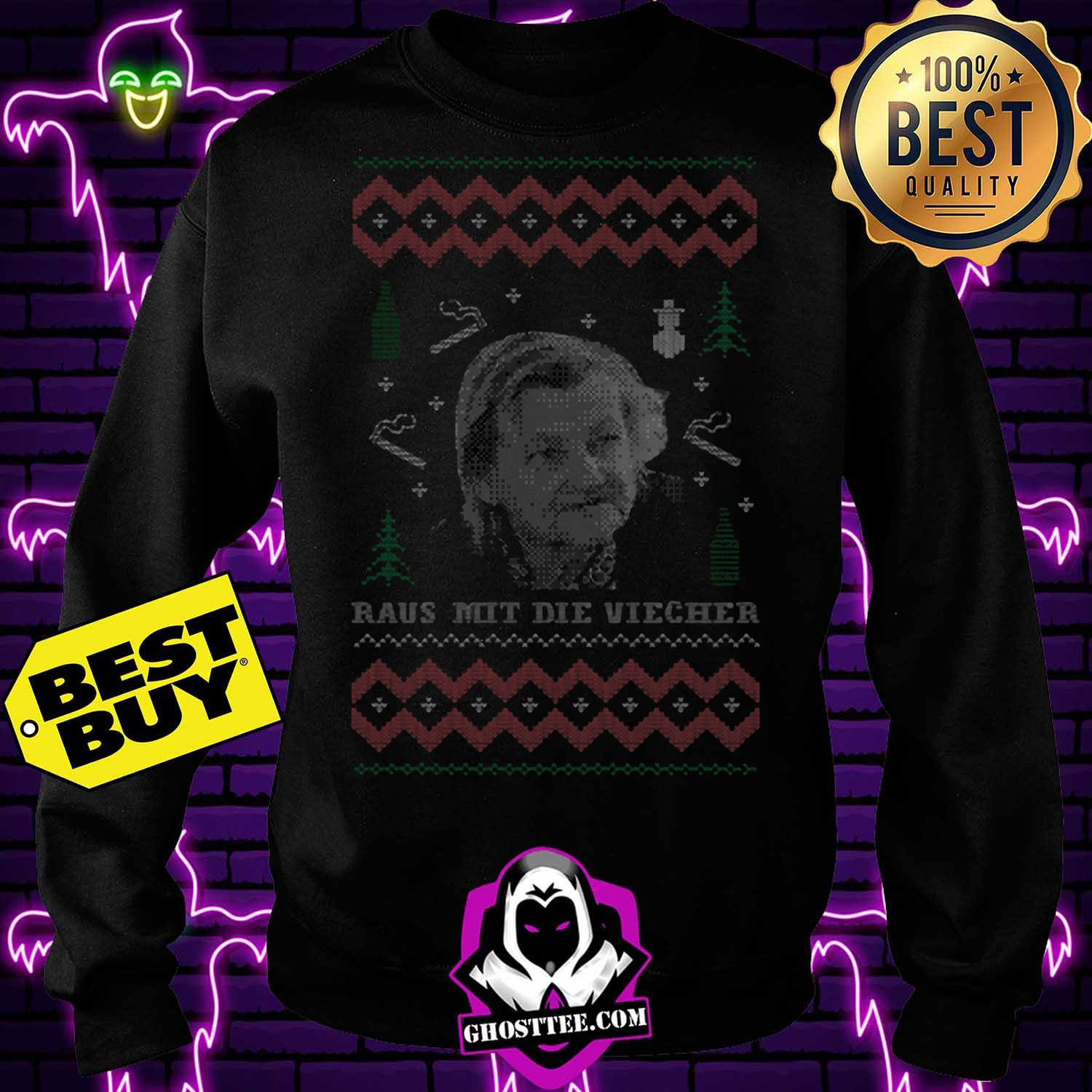 familie ritter raus mit die viecher ugly christmas sweatshirt - Familie Ritter Raus Mit Die Viecher ugly Christmas shirt