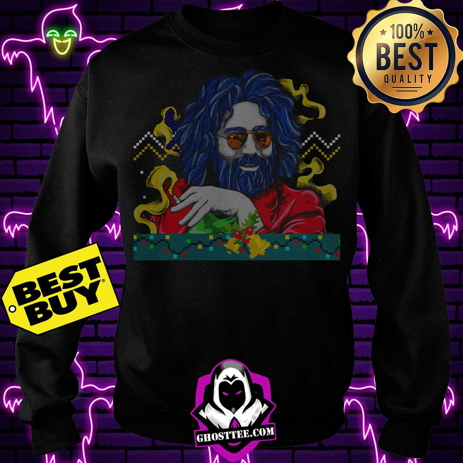 jerry garcia grateful dead merry christmas sweatshirt - Jerry garcia Grateful Dead Merry Christmas shirt