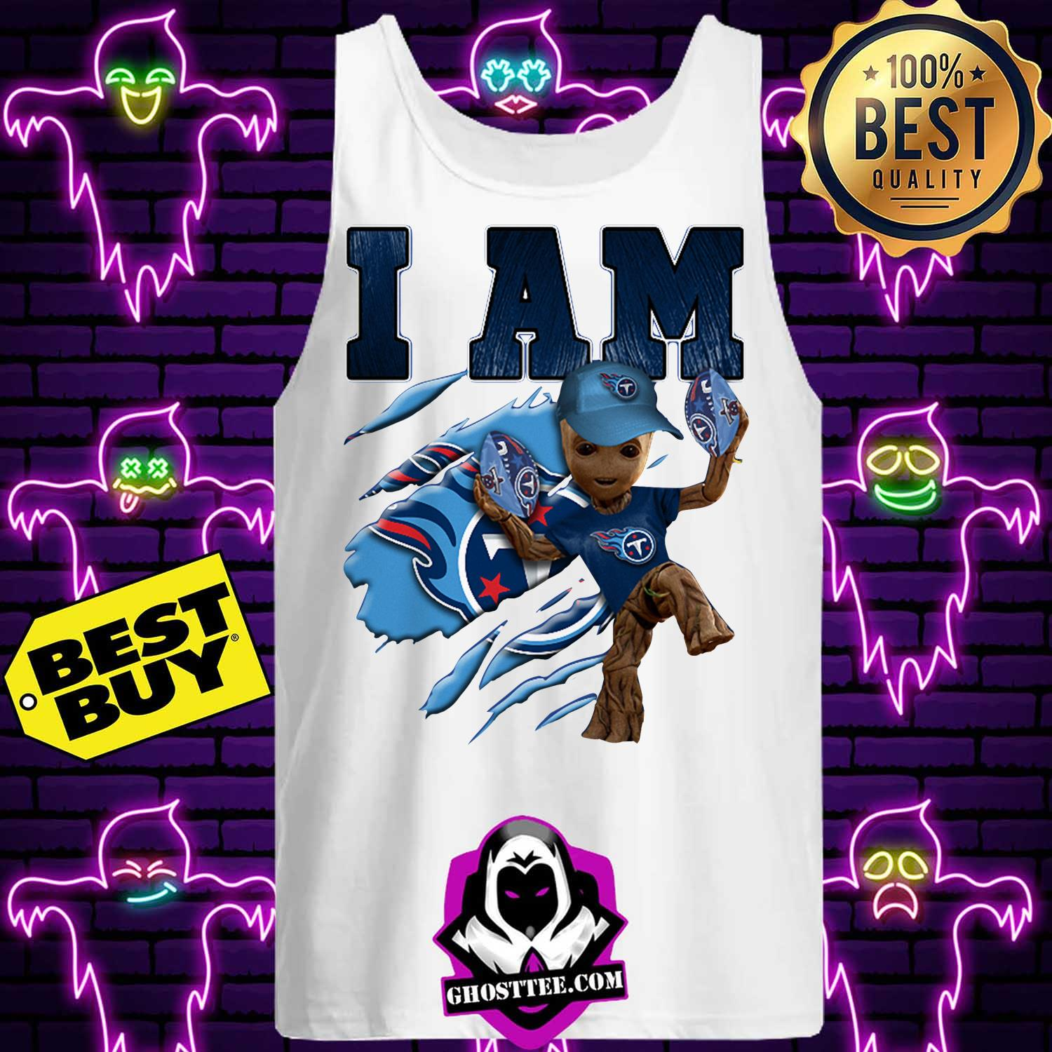 tennessee titans i am groot tank top - Tennessee Titans I am Groot shirt