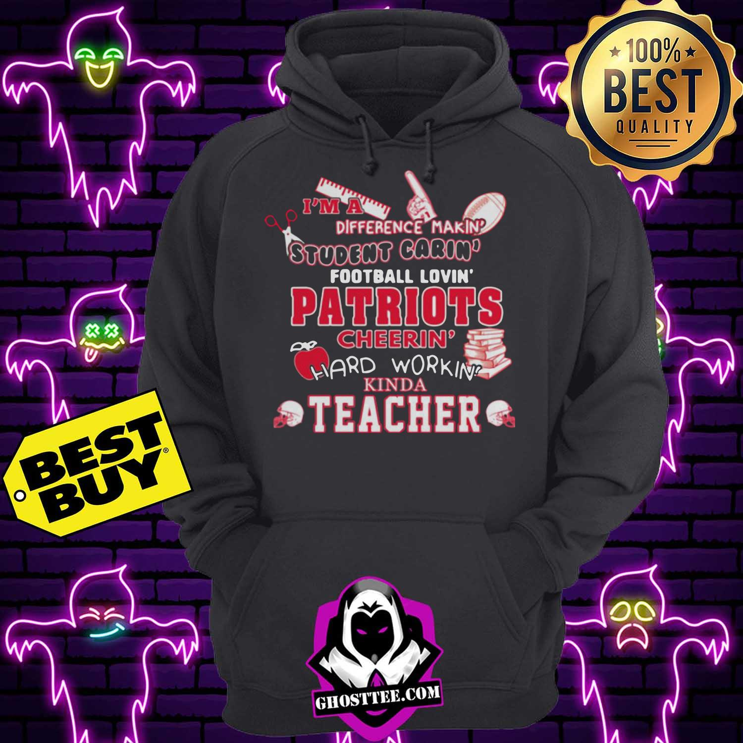 tennessee titans nfl im a difference making student caring football loving kinda teacher youth hoodie 1 - Tennessee Titans NFL I'm A Difference Making Student Caring Football Loving Kinda Teacher Youth shirt