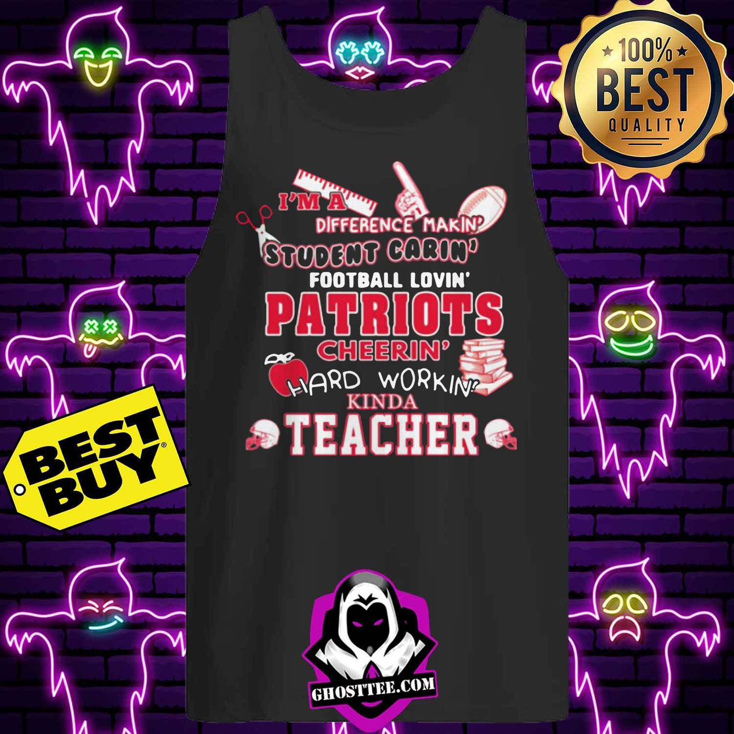 tennessee titans nfl im a difference making student caring football loving kinda teacher youth tank top 1 - Tennessee Titans NFL I'm A Difference Making Student Caring Football Loving Kinda Teacher Youth shirt